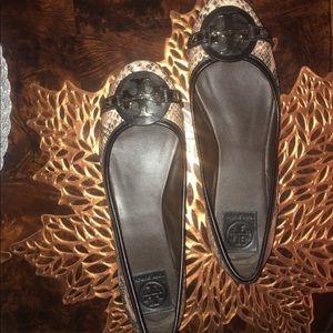 Tory Burch Shoes - Tory Burch Snakeskin Flats
